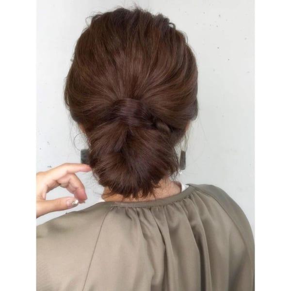40代におすすめの結婚式の髪型16