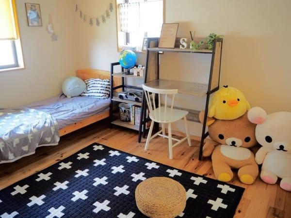 男の子向け子供部屋インテリア&収納8