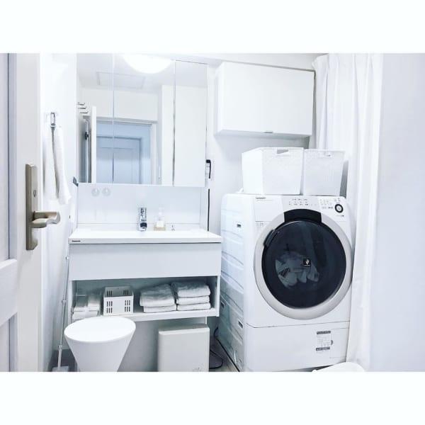 ホワイトインテリア清潔感アップ