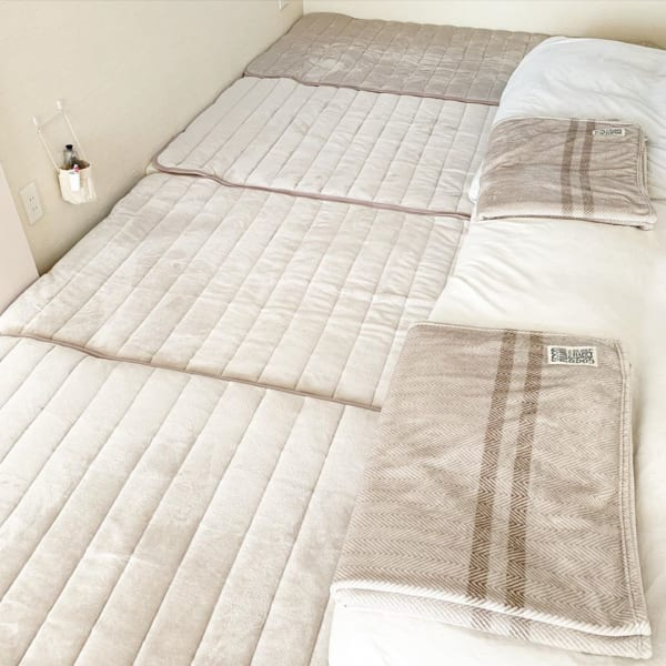 シンプリストの寝室インテリア9
