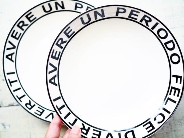 デザインレターズ風の食器