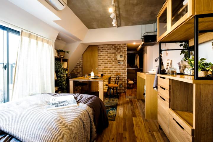 一人暮らしの部屋を広く見せる方法