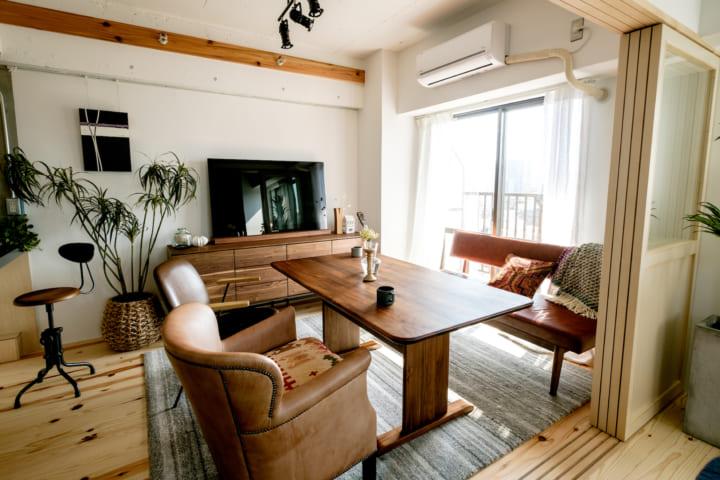 一人暮らしの部屋を広く見せる方法2