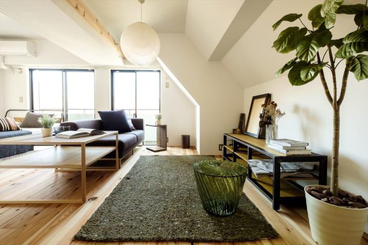 一人暮らしの部屋を広く見せる方法3