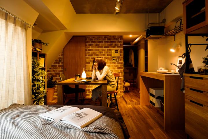 一人暮らしの部屋を広く見せる方法4