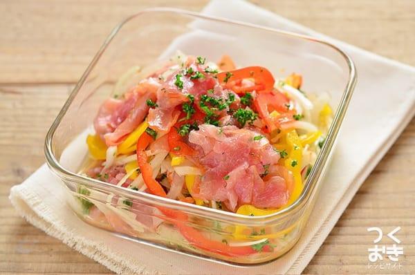 人気のパプリカで簡単副菜レシピ《和え物・サラダ》6