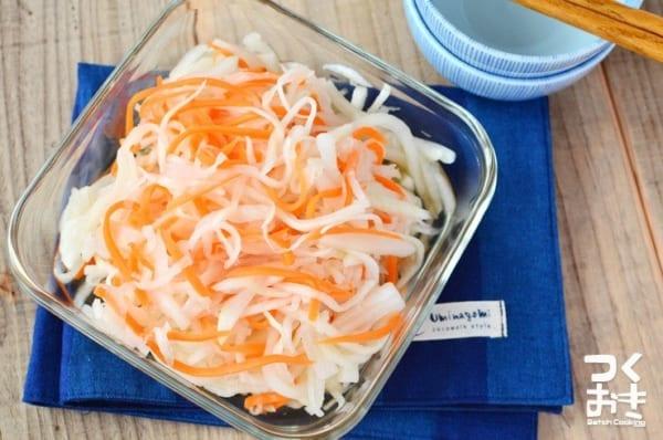 和風の副菜料理に!人気の紅白なます