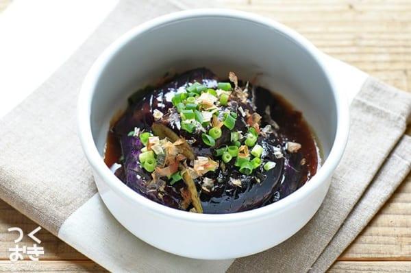 和風テイストの簡単な副菜に!なすの揚げ浸し