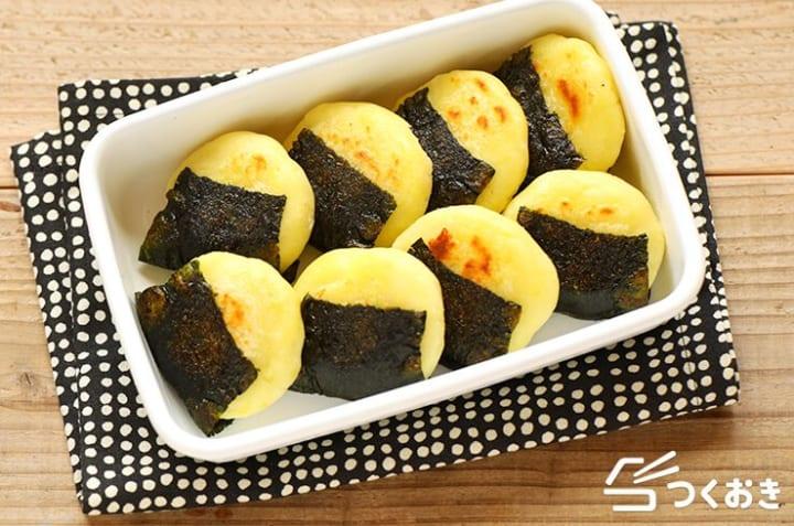簡単なもちもち副菜に!海苔チーズポテト