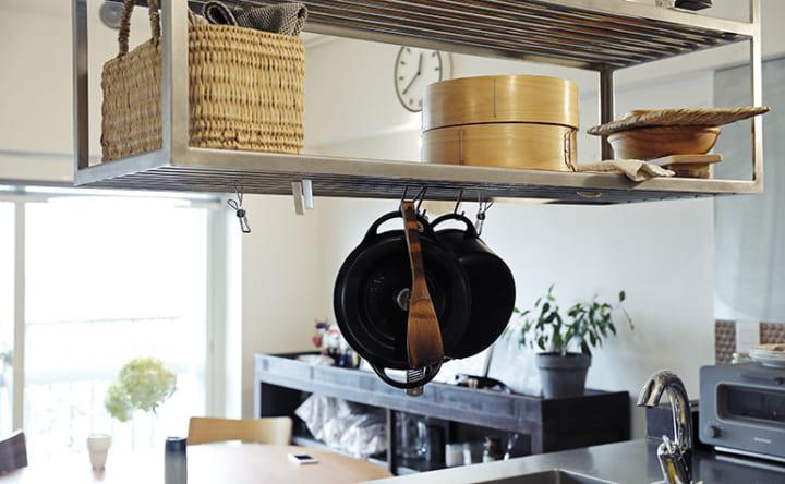 シンクや家電が両側から使える 無駄なく機能的なL型キッチン3