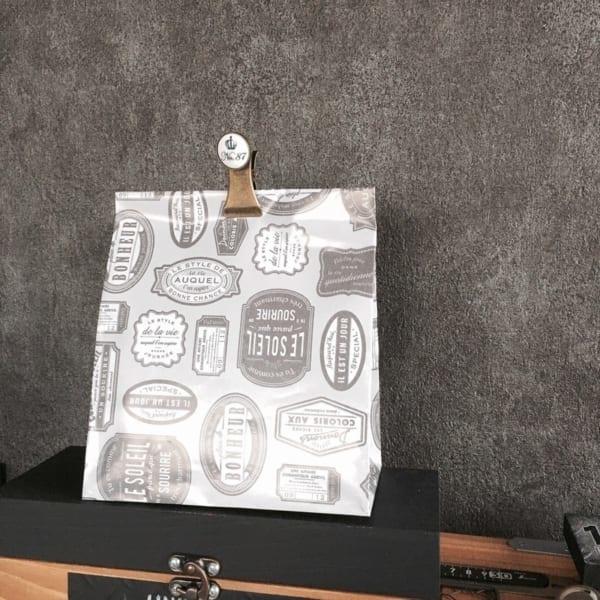ラッピングペーパーを使ったかわいい袋