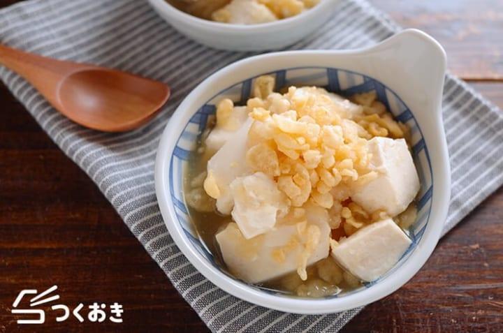 付け合わせレシピに!絹ごし豆腐と大根みぞれ煮