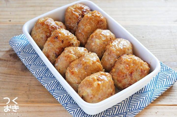 人気のおかずレシピに!和風旨味ハンバーグ