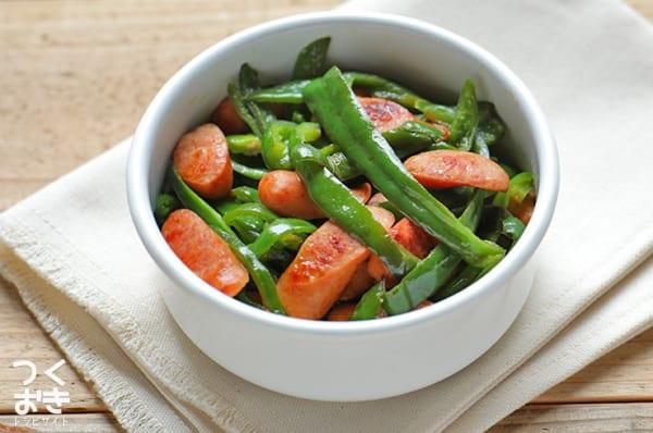 ピーマンの簡単なおすすめ副菜10
