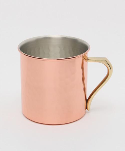 飲み物の冷たさが長持ちする銅製マグカップ