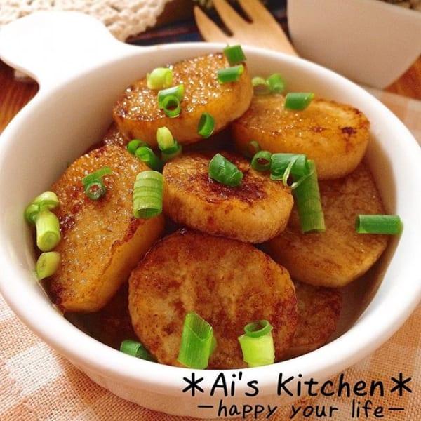 副菜のおかずは簡単に!長芋のバタポンステーキ