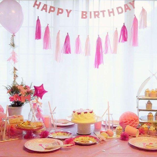 子供の誕生日におすすめの飾り付け《女の子》6