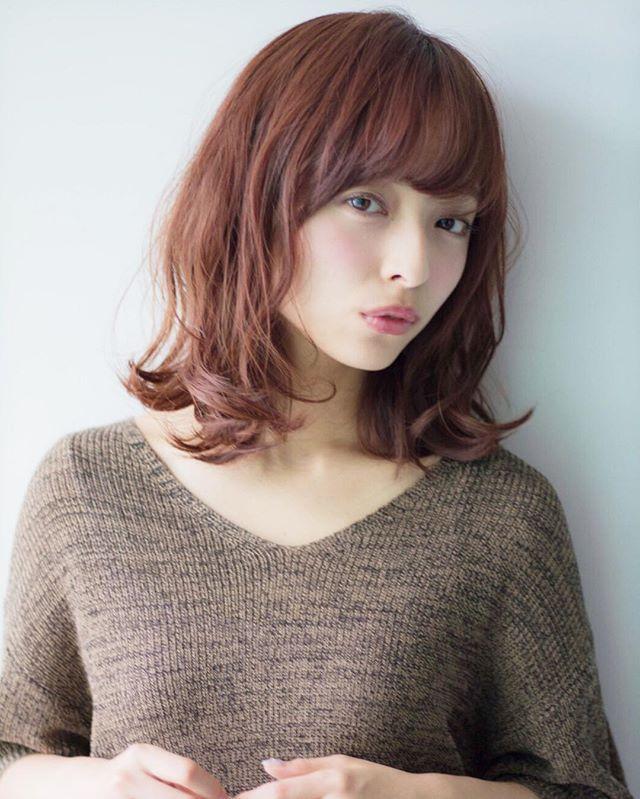ロブの髪型4