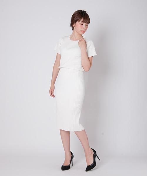 [glamb] Citra knit skirt / シトラニットスカート