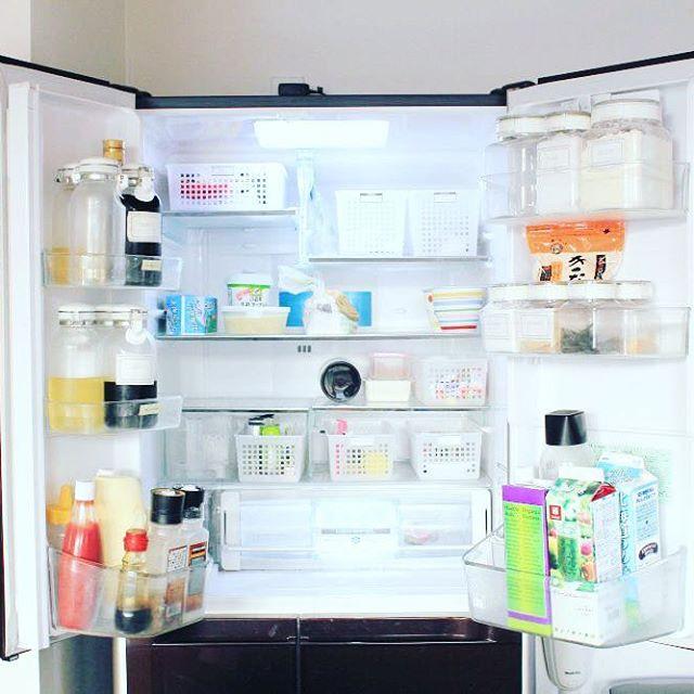 冷蔵庫に入る量しか持たないシンプルライフ