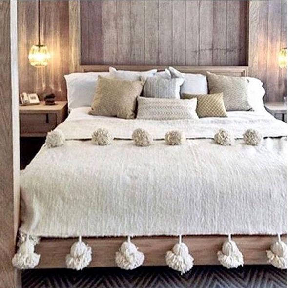 アジアンリゾート風の寝室インテリア2