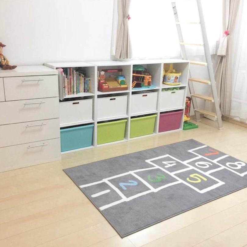 子供部屋のボックスと引出しを役立てる方法