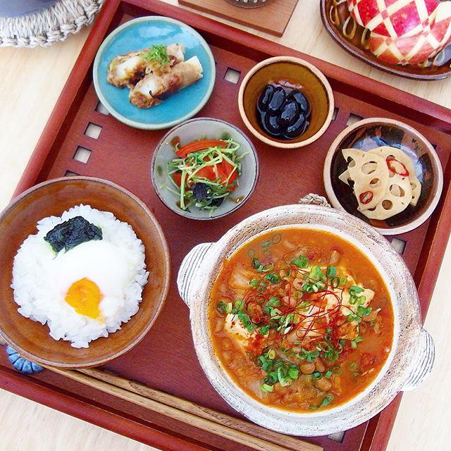 発酵食品で簡単レシピに!納豆キムチ麻婆豆腐