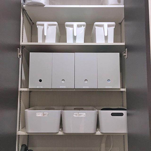 おしゃれなトイレ収納《タオル》