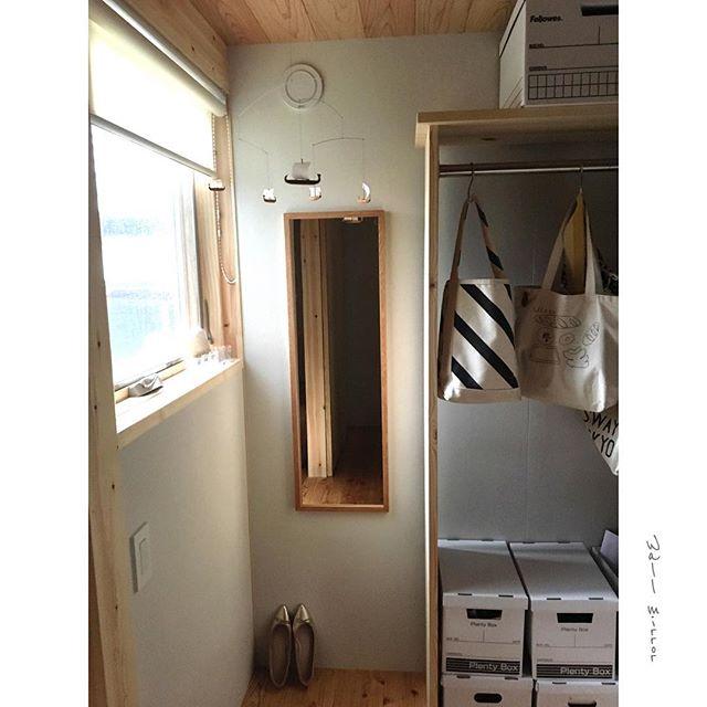 シンプルで格好良い寝室収納アイデア