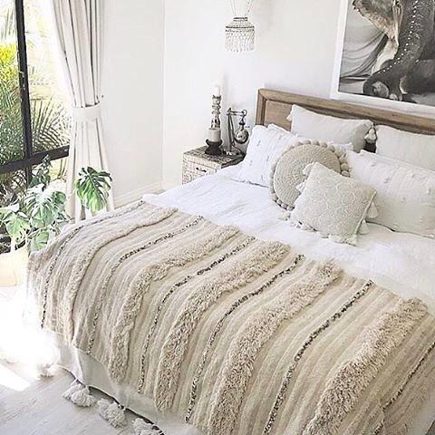 アジアンリゾート風の寝室インテリア5