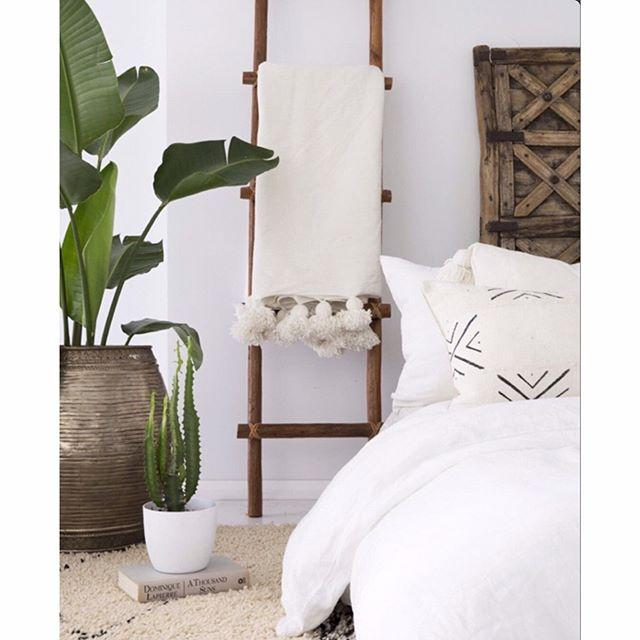 アジアンリゾート風の寝室インテリア4