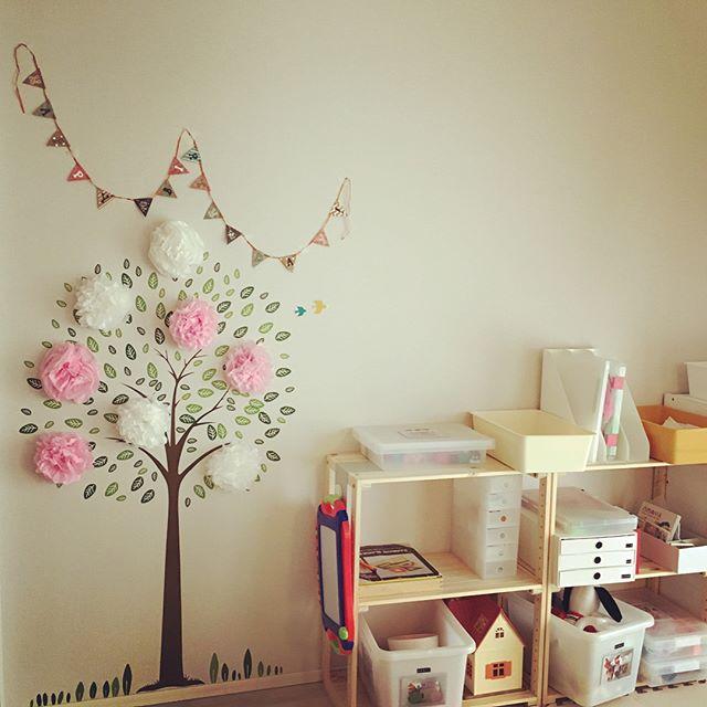 子供の誕生日におすすめの飾り付け《女の子》2