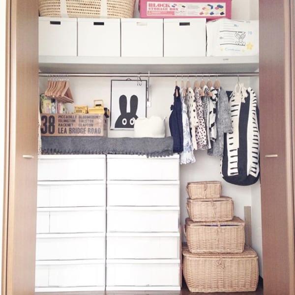 子供服のクローゼット収納アイデア《IKEA》2
