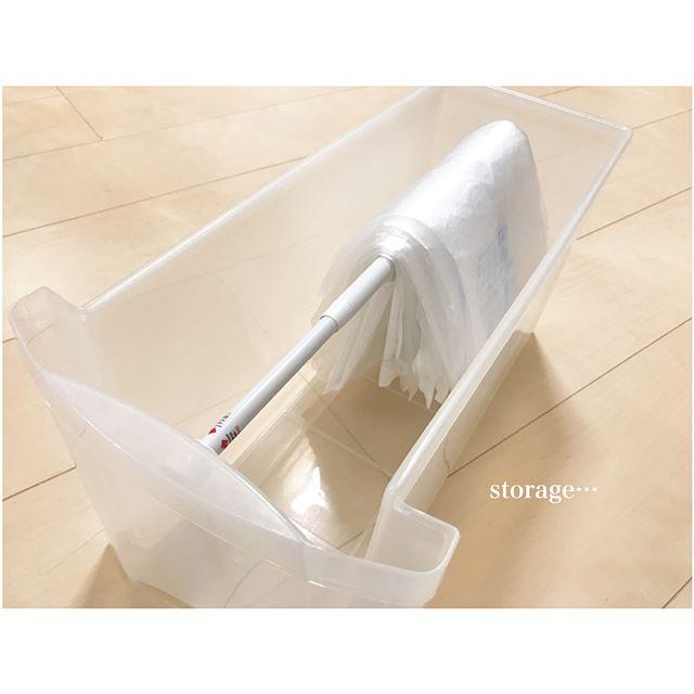 ボックスの中でレジ袋収納にするアイデア