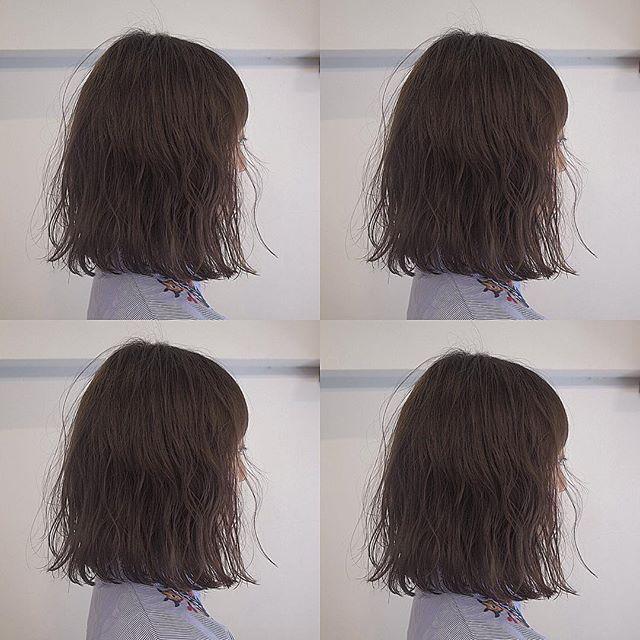 ロブの髪型2