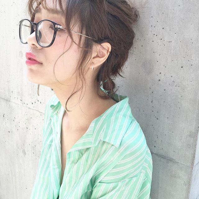 夏祭り 髪型 ボブ5
