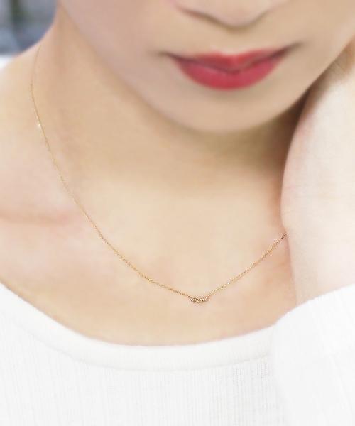 ベーシックなダイヤモンドネックレス
