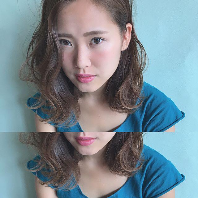 ロブの髪型16
