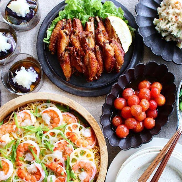 ちらし寿司の献立に合う副菜《焼き物&蒸し物》2