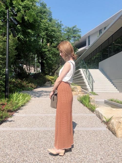 [TODAYFUL] レイシーニットスカート