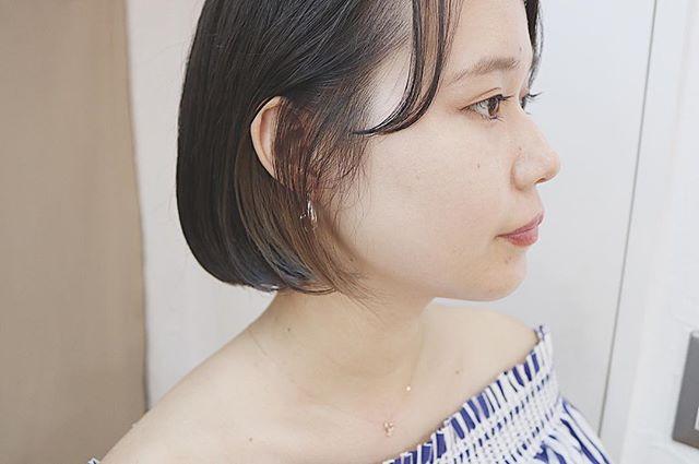 夏祭り 髪型 ボブ14