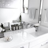 洗面台を美しくスッキリ見せる!オシャレな洗面台と収納のアイデア