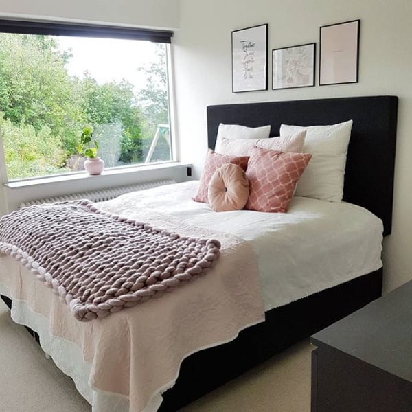 海外のベッドルームインテリア《小物の使い方》2