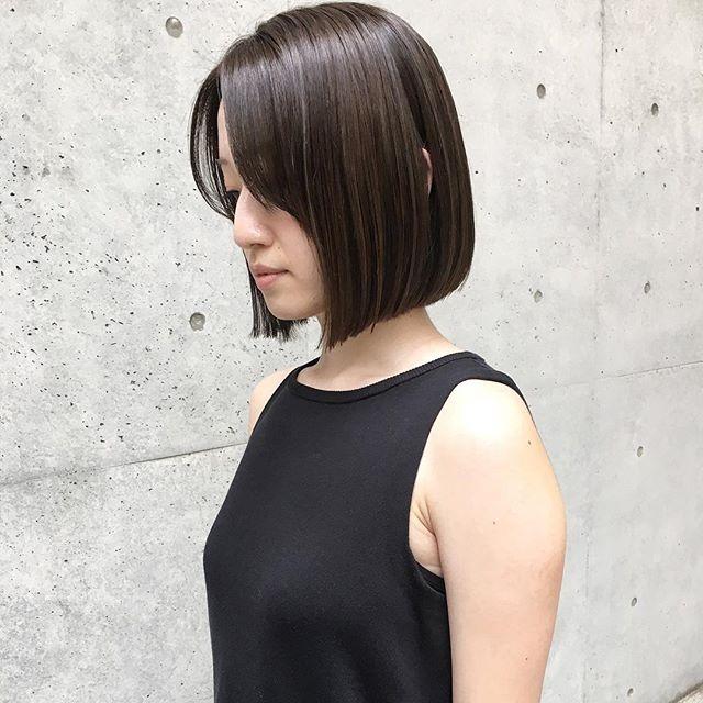 ロブの髪型6