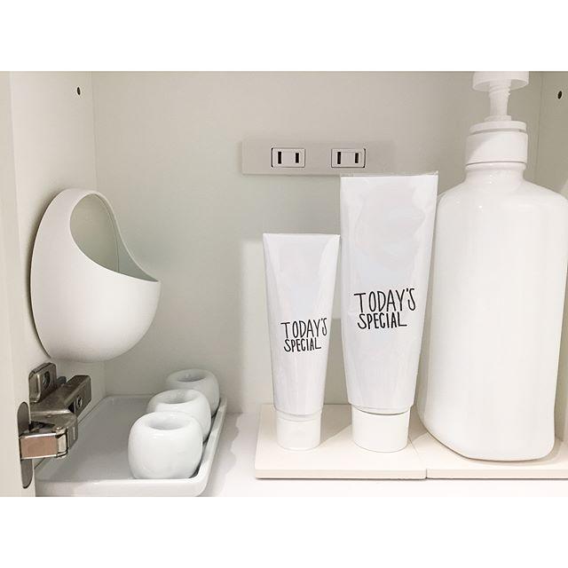 100均グッズを使った洗面所の鏡裏の収納アイデア5