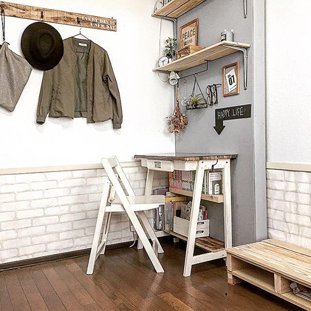 5畳 子供部屋 レイアウト8