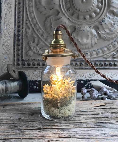 [m.soeur] flower bottle light *(フラワーボトルライト/ミニ)