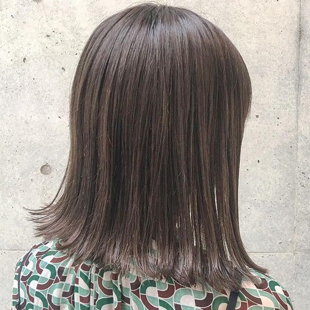ロブの髪型9