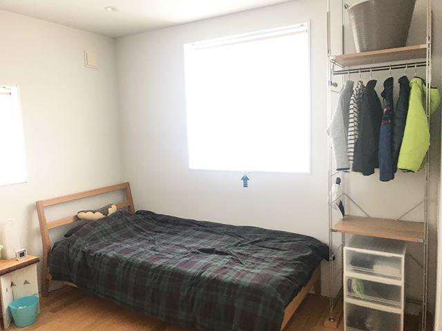 ブラックウォッチの寝具がポイント