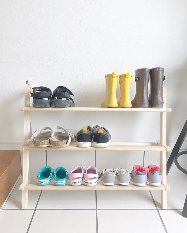 DIY靴箱8
